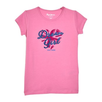 Pepe Jeans London - Naroa - T-shirt manches courtes - rose
