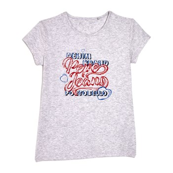 Pepe Jeans London - Neus - Kurzärmeliges T-Shirt - grau