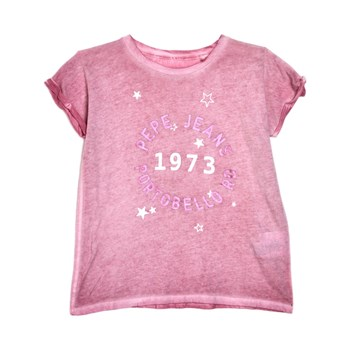 Pepe Jeans London - Nora - T-shirt manches courtes - rose
