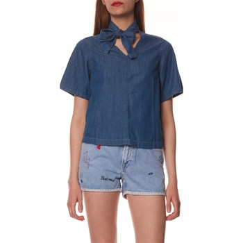 Pepe Jeans London - Faye - Top - bleu jean