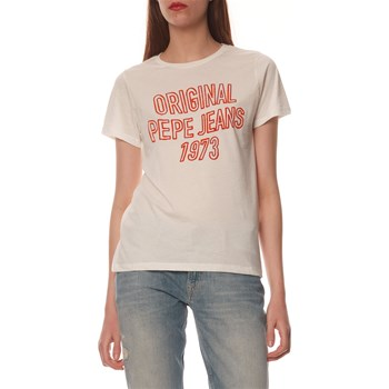 Pepe Jeans London - Electra - T-shirt manches courtes - blanc