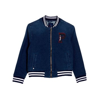 Pepe Jeans London - Barrow - Chaqueta teddy - azul jean