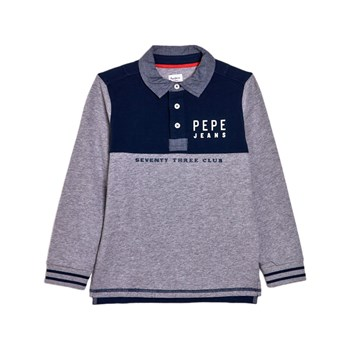 Pepe Jeans London - Peter - Polo manches longues - blu scuro