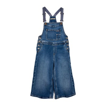 Pepe Jeans London - Lot Sporty - Salopette en jean - bleu jean