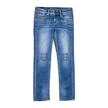 Pepe Jeans London - Sabel fringed - Jean regular - bleu jean