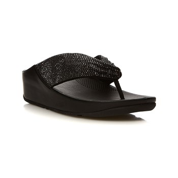 FitFlop - Twiss Crystal - Sandales - noir