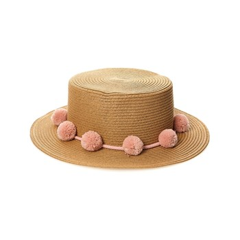 Pieces - Pcisa Straw - Chapeau - rose