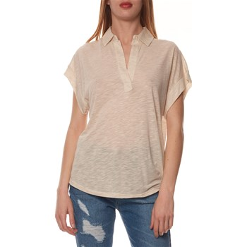 Benetton - UCB - Polo manches courtes - beige