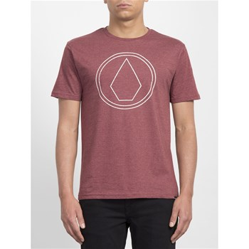 Volcom - Pin stone hth - Baskets basses - rouge
