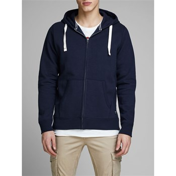 Jack & Jones - Sweat à capuche - bleu marine