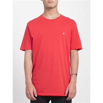 Volcom - Stone blank bsc - T-shirt manches courtes - rouge