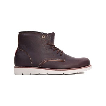 Levi's - Jax high - Boots en cuir - marron