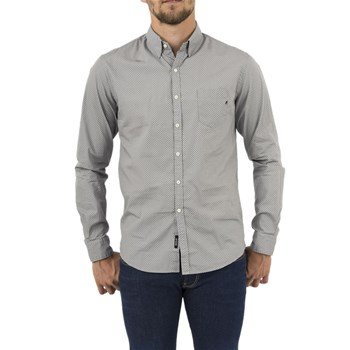 Replay - Chemise manches longues - gris