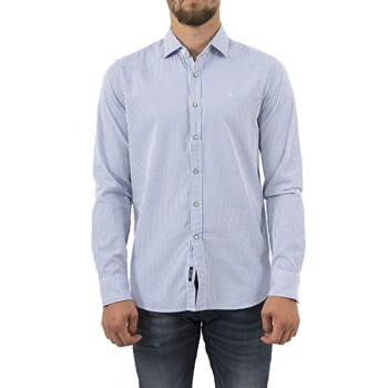 Replay - Chemise manches longues - bleu