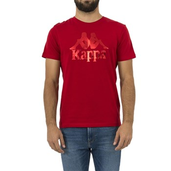 Kappa - T-shirt manches courtes - rouge