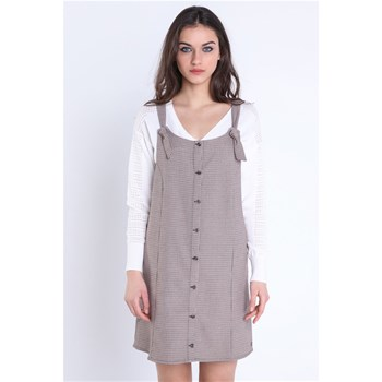 Bonobo Jeans - Robe chasuble - taupe