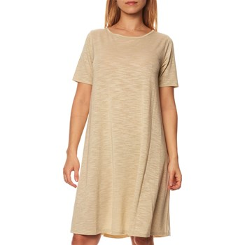 Benetton - Undercolors - T-Shirt-Kleid - goldfarben