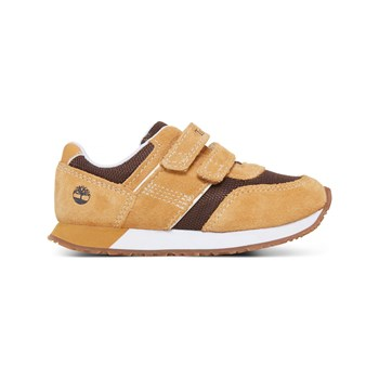 Timberland - City Sacmper - Baskets en daim - moutarde