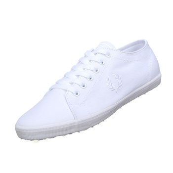 Fred Perry - Kingston twill - Baskets basses - blanc