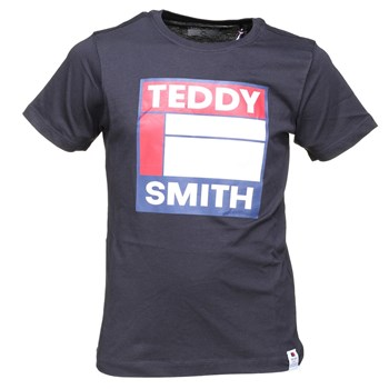 Teddy Smith - Tegis mc - T-shirt manches courtes - bleu