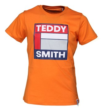 Teddy Smith - Tegis mc - T-shirt manches courtes - orange