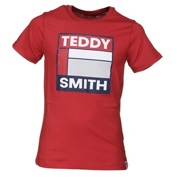 Teddy Smith - Tegis mc - T-shirt manches courtes - rouge