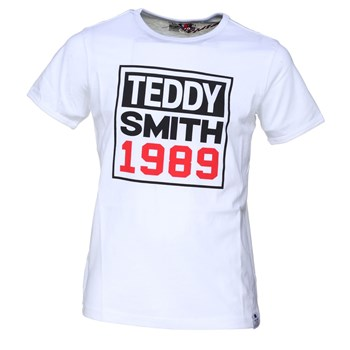 Teddy Smith - Tafe mc - T-shirt manches courtes - blanc