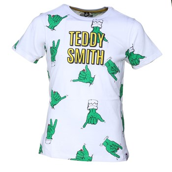 Teddy Smith - Tao mc - T-shirt manches courtes - blanc