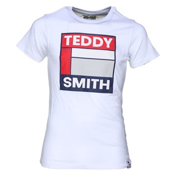 Teddy Smith - Tegis mc - T-shirt manches courtes - blanc