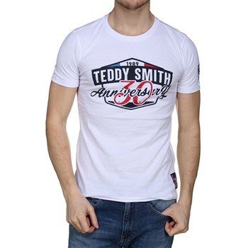 Teddy Smith - Mc - T-shirt manches courtes - blanc