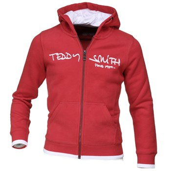Teddy Smith - Giclass hoody - Gilet - rouge