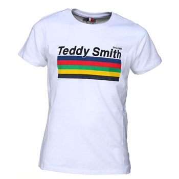 Teddy Smith - Tjie mc - T-shirt manches courtes - blanc