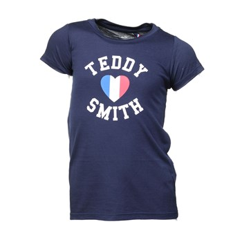 Teddy Smith - Twelvo mc jr - T-shirt manches courtes - bleu