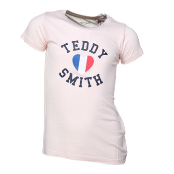Teddy Smith - Twelvo mc jr - T-shirt manches courtes - rose