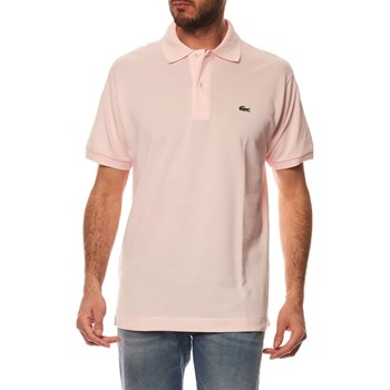 Lacoste - Polo manches courtes - rose
