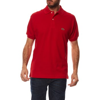 Lacoste - Polo manches courtes - rouge