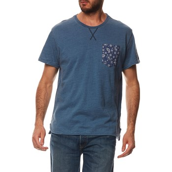 THEROS - T-SHIRT MANCHES COURTES - BLEU Pepe Jeans London