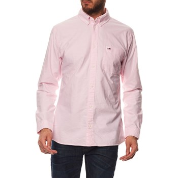 Tommy Jeans - Chemise manches longues - rose