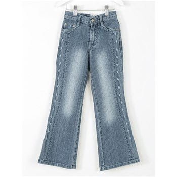 Happy Sweet - Jean flare - bleu jean
