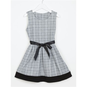 Happy Sweet - Vestido patinadora - gris
