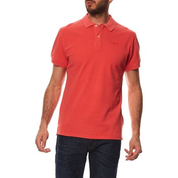 VINCENT GD - POLO MANCHES COURTES - CORAIL Pepe Jeans London