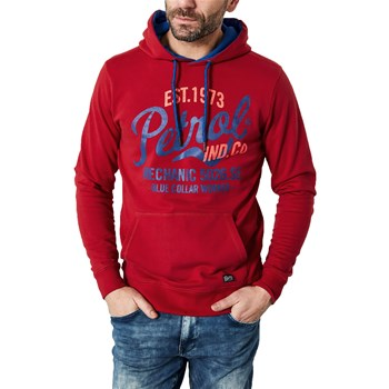 Petrol Industries - Sweater hooded - Sweat à capuche - rouge