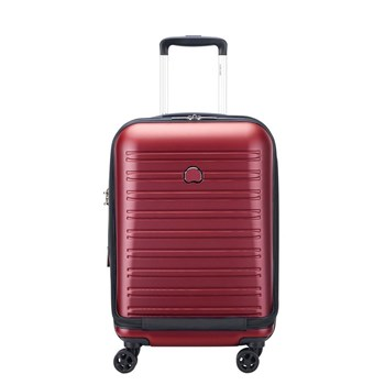 adf4f135b6 Delsey - Segur 2.0 trolley cabine business ext 4dr 55 - Valise cabine -  rouge