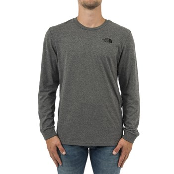 The North Face - T-shirt manches longues - gris
