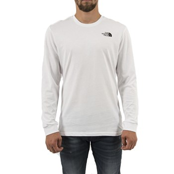 The North Face - 3l3b simple - T-shirt manches longues - blanc