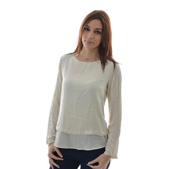 Tom Tailor - T-shirt manches longues - beige