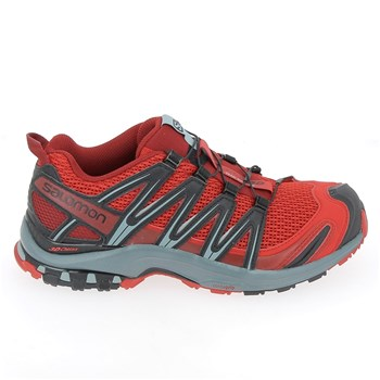 Salomon - Baskets basses - rouge