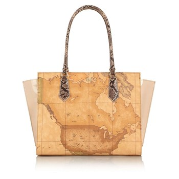 Alviero Martini - Sac shopping - beige