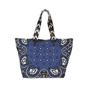 Red Valentino - Sac shopping - bleu