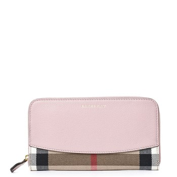 Burberry - Portefeuille - rose